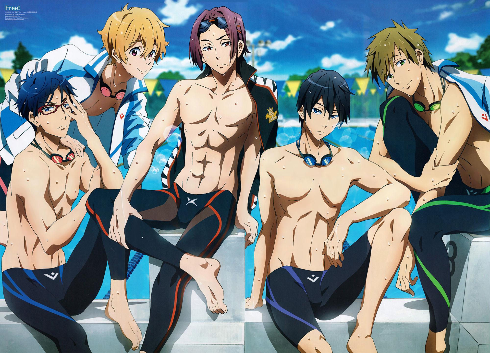Anime Review Free Iwatobi Swim Club Anrisa S Anime